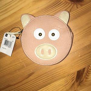 Pig wallet/coin purse